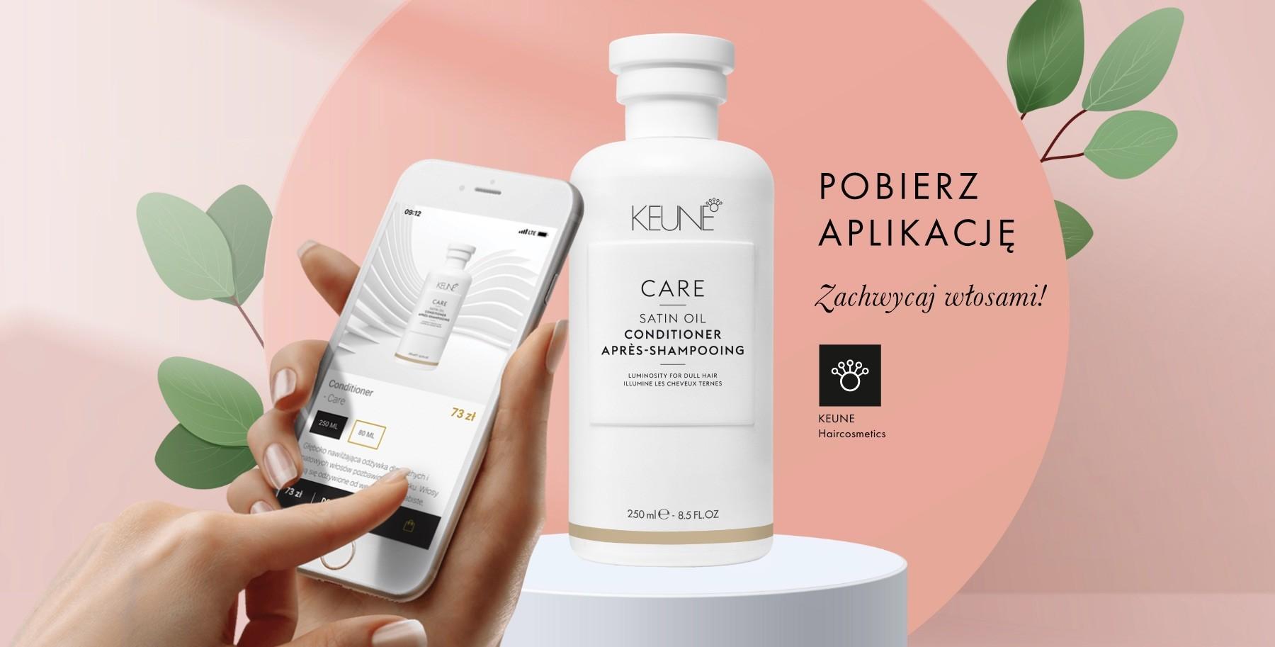 Nowość w rodzinie KEUNE - aplikacja mobilna!